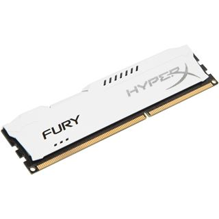 4GB HyperX FURY weiß DDR3-1333 DIMM CL9 Single