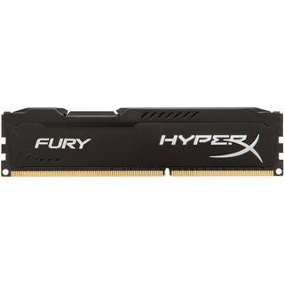 4GB HyperX FURY schwarz DDR3-1333 DIMM CL9 Single