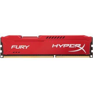8GB HyperX FURY rot DDR3-1866 DIMM CL10 Dual Kit