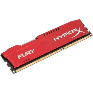 8GB HyperX FURY rot DDR3-1866 DIMM CL10 Single