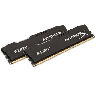 16GB HyperX FURY schwarz DDR3-1333 DIMM CL9 Dual Kit
