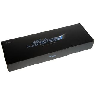 Ducky Shine 3 pinke LED CHERRY MX Black USB Deutsch schwarz (kabelgebunden)