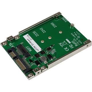 Startech SATA 2,5 Zoll Adapter für M.2 NGFF SSDs (SAT32M225)