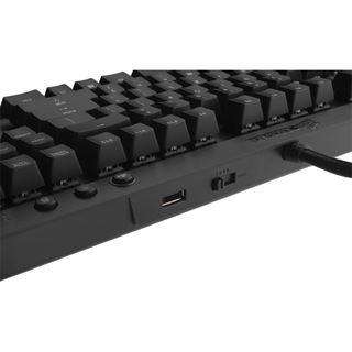 Corsair Vengeance K70 CHERRY MX Brown USB Deutsch schwarz (kabelgebunden)