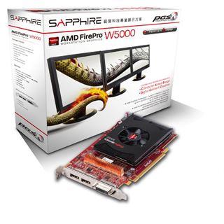 2GB Sapphire FirePro W5000 Aktiv PCIe 3.0 x16 (Retail)