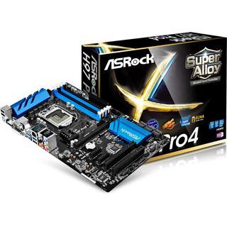 ASRock H97 Pro4 Intel H97 So.1150 Dual Channel DDR3 ATX Retail