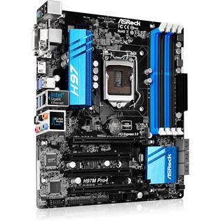 ASRock H97M Pro4 Intel H97 So.1150 Dual Channel DDR3 mATX Retail