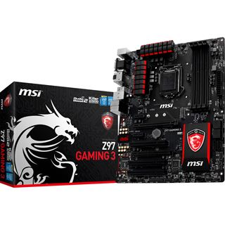 MSI Z97 GAMING 3 Intel Z97 So.1150 Dual Channel DDR3 ATX Retail