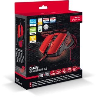 Speedlink Decus USB schwarz/rot (kabelgebunden)