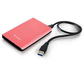 "500GB Verbatim Store n Go 53170 2.5"" (6.4cm) USB 3.0 pink"