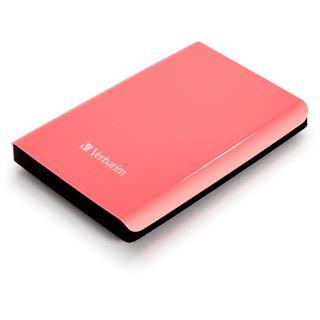 "1000GB Verbatim Store n Go 533173 2.5"" (6.4cm) USB 3.0 pink"