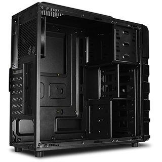 Raidmax Vortex V3 mit Sichtfenster Midi Tower ohne Netzteil schwarz