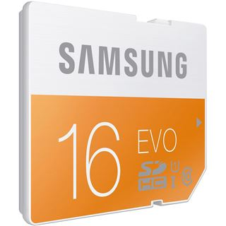 16 GB Samsung EVO SDHC UHS-I Retail