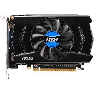 2GB MSI GeForce GTX 750 OC Aktiv PCIe 3.0 x16 (Retail)