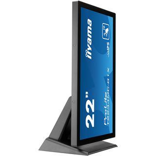 """21,5"""" (54,61cm) iiyama T2234MC-B1X schwarz/silber 1920x1080 1xDVI / 1xVGA / USB"""