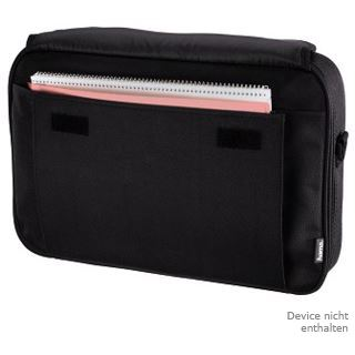 Hama Notebook-Tasche Sportsline Bahama Displaygr. bis 40 cm (15,6), Schwarz