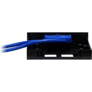 """Inter-Tech 2x USB 3.0 1x 2,5 Zoll Front Panel für 3,5"""" Einbauschächte (88885242)"""