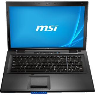 """Notebook 17.3"""" (43,94cm) MSI CX70-i740M281W7H"""