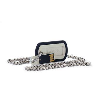 16 GB Verbatim Dog Tag silber USB 2.0