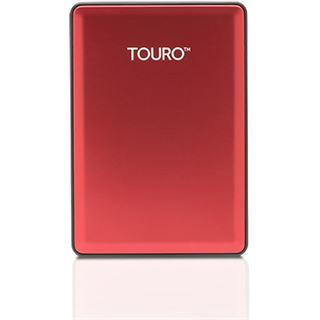"""1000GB Hitachi Touro S 0S03779 2.5"""" (6.4cm) USB 3.0 rot"""