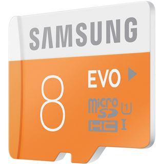 8 GB Samsung EVO microSDHC Class 10 Retail inkl. Adapter auf SD