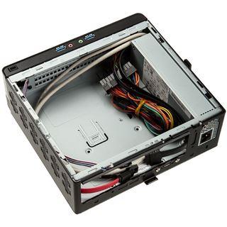 IN WIN BQ656 Slim Mini-ITX 120 Watt schwarz