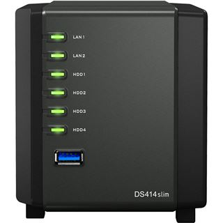 Synology DiskStation DS414slim ohne Festplatten