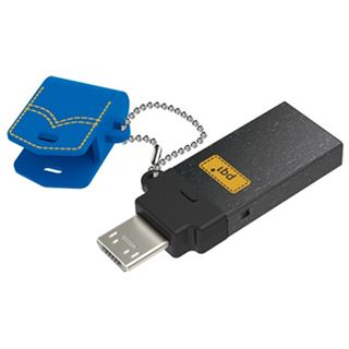 32 GB PQI Connect 301 blau USB 3.0