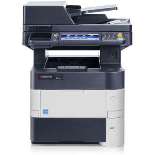 Kyocera Ecosys M3550idn/KL3 S/W Laser Drucken/Scannen/Kopieren/Faxen Cardreader/LAN/USB 2.0
