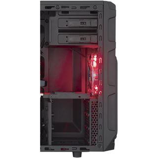 Corsair Carbide SPEC-03 LED rot mit Sichtfenster Midi Tower ohne Netzteil schwarz/rot