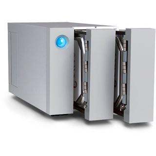 "8000GB LaCie 2big Thunderbolt 2 9000438EK 3.5"" (8.9cm) 2x Thunderbolt 2 20Gb/s silber"