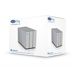 "12000GB LaCie 2big Thunderbolt 2 9000473EK 3.5"" (8.9cm) 2x Thunderbolt 2 20Gb/s/USB 3.0 weiss"
