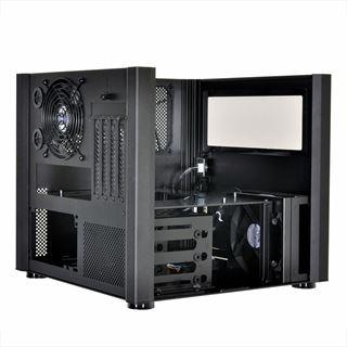 Lian Li PC-V359WX mit Sichtfenster Mini Tower ohne Netzteil schwarz