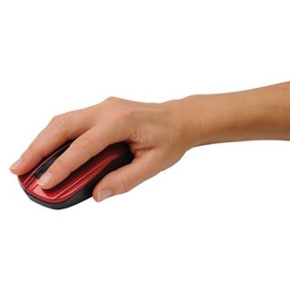 V7 Compact USB schwarz/rot (kabellos)
