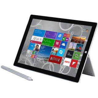 "12.0"" (30,48cm) Microsoft Surface Pro 3 PS2-00004 WiFi/Bluetooth V4.0 256GB schwarz"