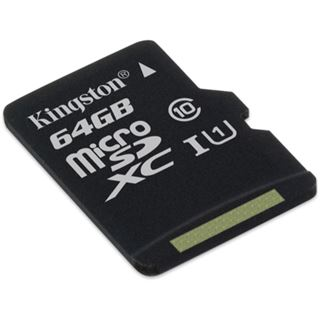 64 GB Kingston UHS- microSDXC UHS-I Retail