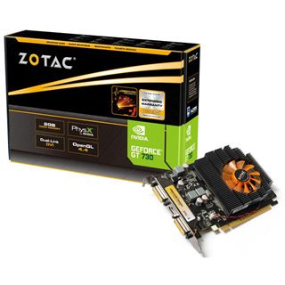 2GB ZOTAC GeForce GT 730 Aktiv PCIe 2.0 x16 (Retail)