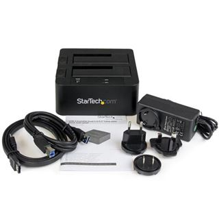 """Startech Dockingstation für 2x 2.5"""" oder 3.5"""" SATA Festplatten (SDOCK2U33EB)"""