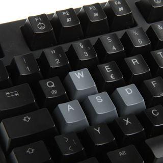 Ducky Shine 3 rote LED MX Brown CHERRY MX Brown USB Deutsch schwarz (kabellos)