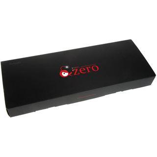 Ducky Zero Zone blaue LED CHERRY MX Red USB Deutsch schwarz (kabelgebunden)