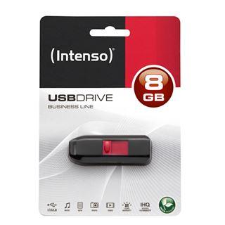 8 GB Intenso Business Line schwarz/rot USB 2.0