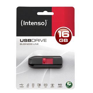 16 GB Intenso Business Line schwarz/silber USB 2.0