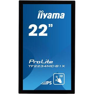 "21,5"" (54,61cm) iiyama ProLite TF2234MC-B1X Touch schwarz 1920x1080 1xDVI/1xVGA"