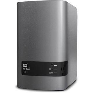 """8000GB WD My Book Duo WDBLWE0080JCH-EESN 3.5"""" (8.9cm) USB 3.0 grau/schwarz"""