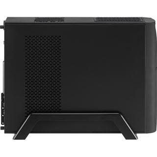 AeroCool QS-102 Black Edition Mini Tower ohne Netzteil schwarz