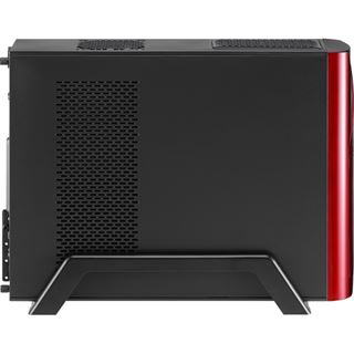AeroCool QS-102 Red Edition Mini Tower ohne Netzteil rot