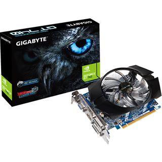 1GB Gigabyte GeForce GT 740 OC Aktiv PCIe 3.0 x16 (Retail)
