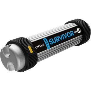 128 GB Corsair Flash Survivor schwarz/silber USB 3.0