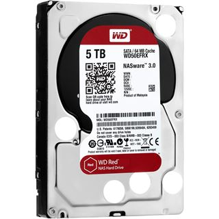 "5000GB WD Red WD50EFRX 64MB 3.5"" (8.9cm) SATA 6Gb/s"