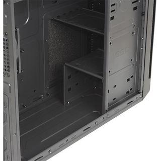 Cooltek X3 Midi Tower ohne Netzteil schwarz